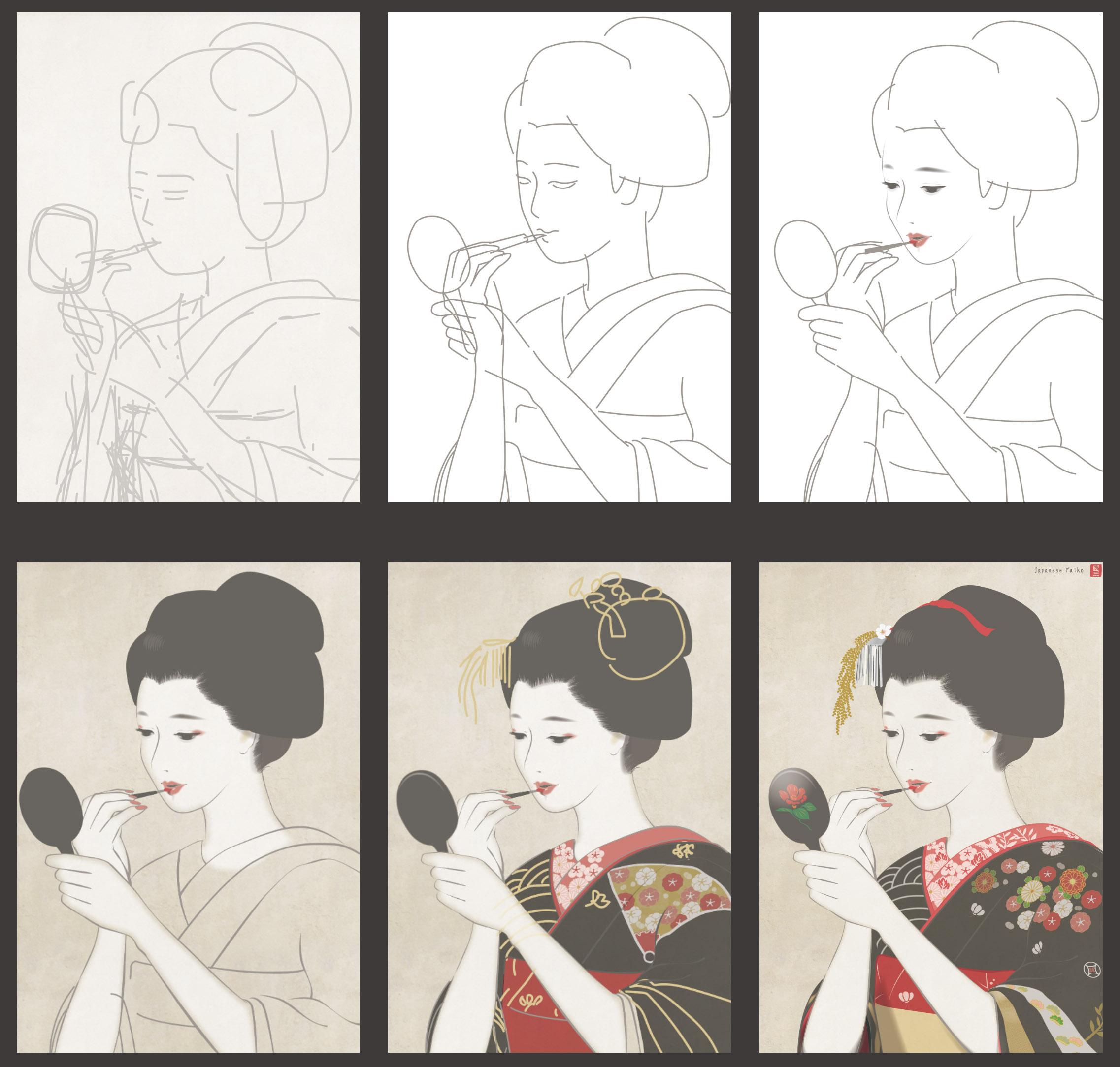 maiko kyoto 舞妓